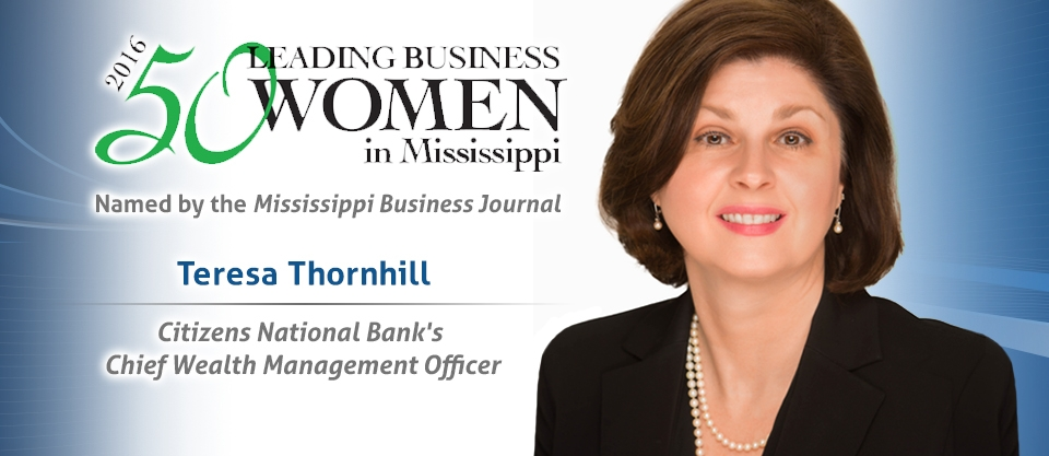 Teresa Thornhill - Leading Business Woman in Mississippi