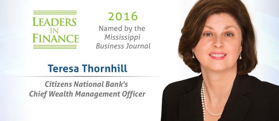 Teresa Thornhill - 2016 Leaders In Finance